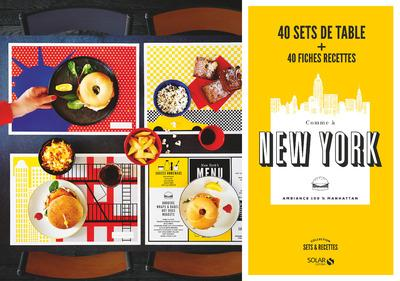 Sets recettes comme a new york 40 sets de table 40 - Set de table new york ...